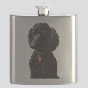 Stunning Poodle Flask