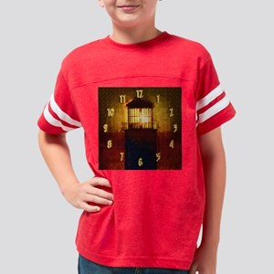 wallclock lighthouse Youth Football Shirt