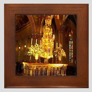 Basillica Tabernacle Framed Tile