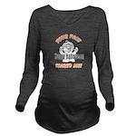 Halloween Scary Face1 Long Sleeve Maternity T-Shir