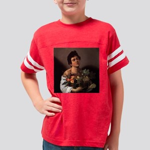 Boy with a Basket of Fruit Youth Football Shirt