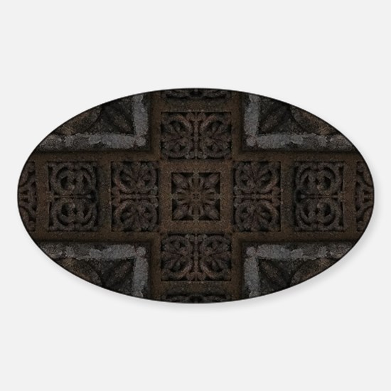 Ancient Cross Pattern Decal