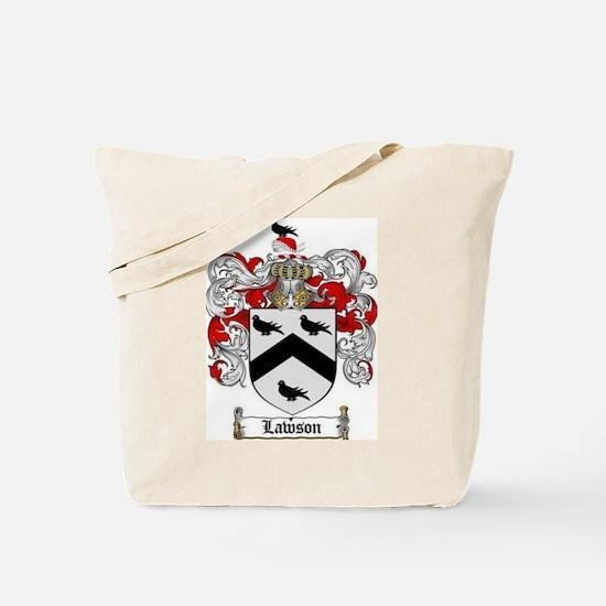 Lawson Coat of Arms Tote Bag