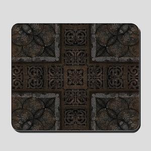 Ancient Cross Pattern Mousepad