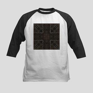 Ancient Cross Pattern Baseball Jersey