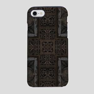 Ancient Cross Pattern iPhone 7 Tough Case