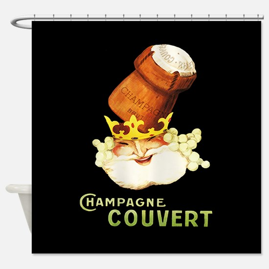 Champagne Couvert Shower Curtain