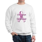 I Support My Girlfriend Sweatshirt