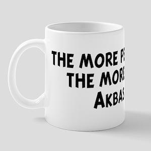 Akbash Dog: people I meet Mug