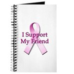 I Support My Friend Journal