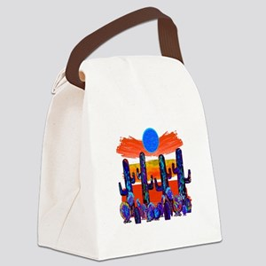 OH THE MOONLIGHT Canvas Lunch Bag