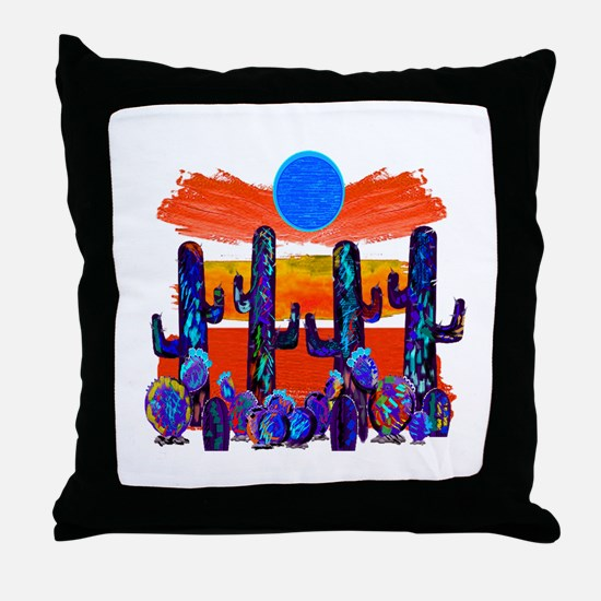 OH THE MOONLIGHT Throw Pillow
