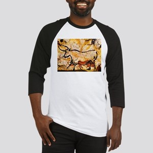 Second Bull, Cave Painting, L Baseball Jersey
