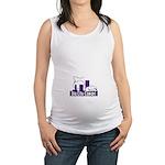 Bigcitycowgirl Logo Maternity Tank Top