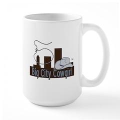 Bigcitycowgirl Logo Large Mug Mugs