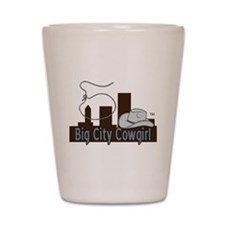 BigCityCowgirl Logo Shot Glass