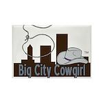 BigCityCowgirl Logo Rectangle Magnet