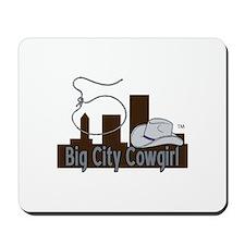 BigCityCowgirl Logo Mousepad
