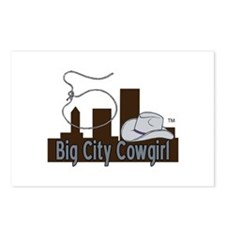 BigCityCowgirl Logo Postcards (Package of 8)