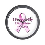 I Support My Daughter-in-Law Wall Clock