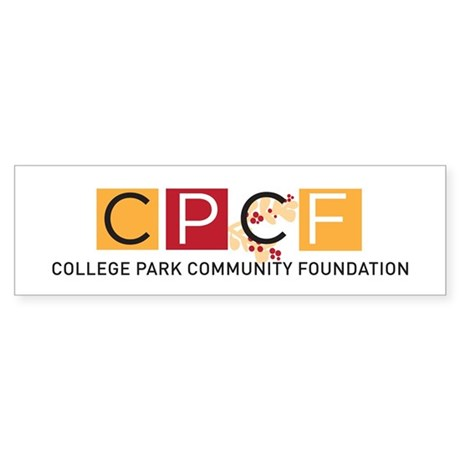 College Park Community Foundation Bumper Sticker