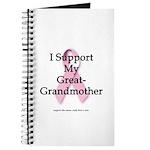 I Support My Great Grandma Journal