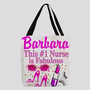 FIERCE NURSE Polyester Tote Bag