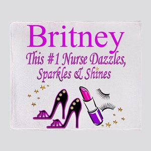 BEST NURSE Throw Blanket