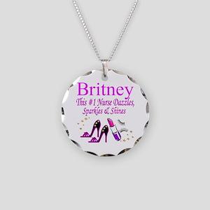 BEST NURSE Necklace Circle Charm