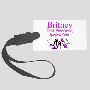 BEST NURSE Large Luggage Tag