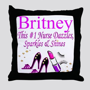BEST NURSE Throw Pillow