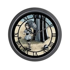 Gothic Beach Beauty Wall Clock