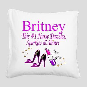 BEST NURSE Square Canvas Pillow