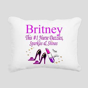 BEST NURSE Rectangular Canvas Pillow