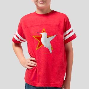 propoganda Hummingbird white Youth Football Shirt