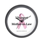 I Support My Mother-in-Law Wall Clock