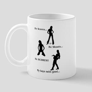Score-Shoot-Score! Mug
