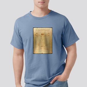 Human Anatomy, Vitruvian Mens Comfort Colors Shirt