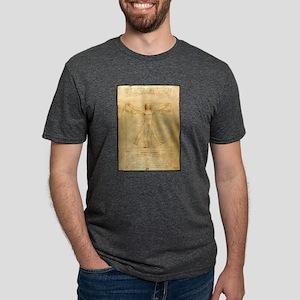 Human Anatomy, Vitruvian Ma Mens Tri-blend T-Shirt