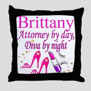 TOP LAWYER Throw Pillow