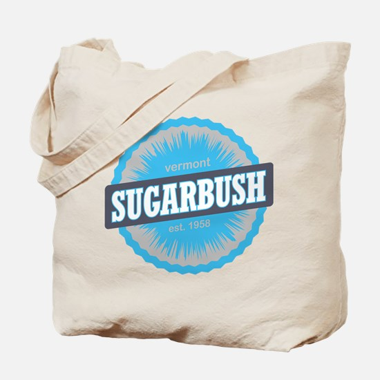 Sugarbush Resort Ski Resort Vermont Sky Blue Tote
