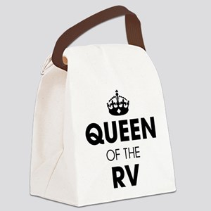 Queen of the RV Canvas Lunch Bag