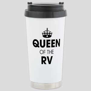 Queen of the RV 16 oz Stainless Steel Travel Mug