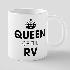 Queen of the RV 20 oz Ceramic Mega Mug