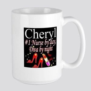 CHIC NURSE 15 oz Ceramic Large Mug