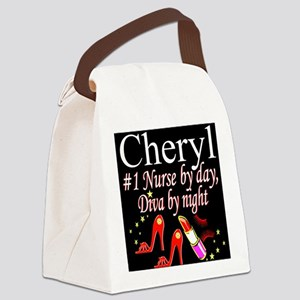 CHIC NURSE Canvas Lunch Bag