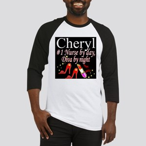 CHIC NURSE Baseball Tee