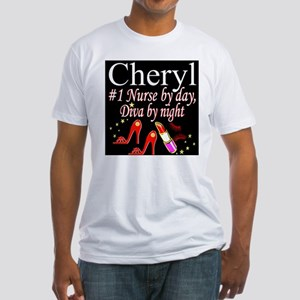 CHIC NURSE Fitted T-Shirt
