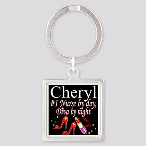 CHIC NURSE Square Keychain