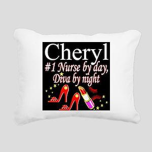 CHIC NURSE Rectangular Canvas Pillow